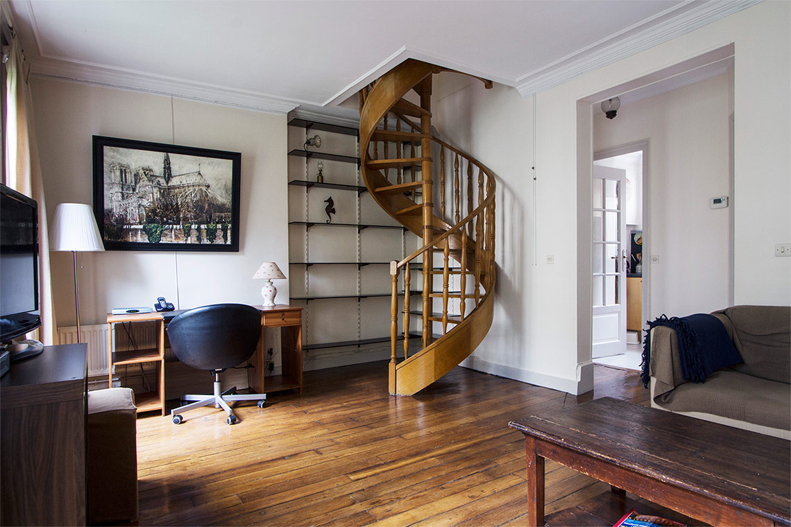 Apartment Paris Rue Lemercier 6
