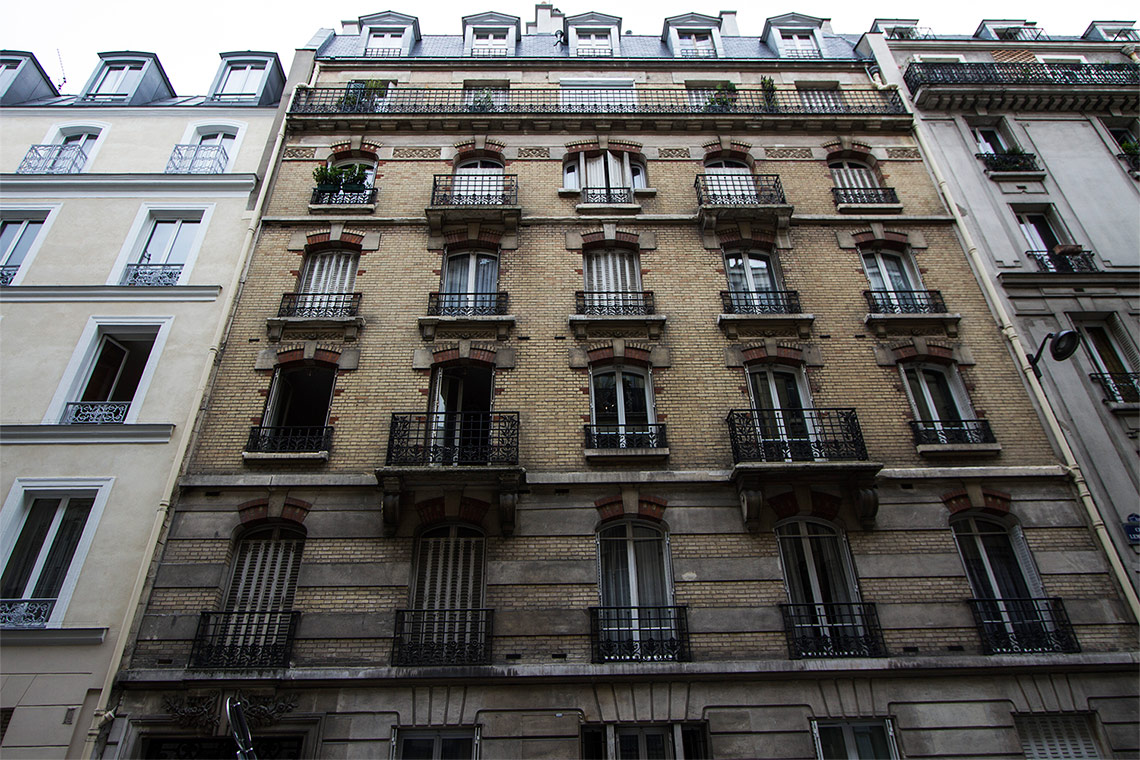Apartment Paris Rue Lemercier 14