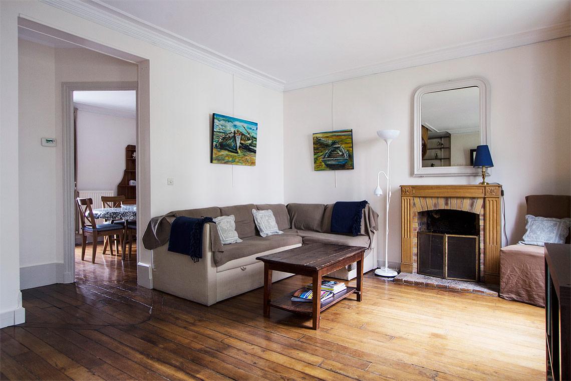 location appartement meubl rue lemercier paris ref 9888. Black Bedroom Furniture Sets. Home Design Ideas