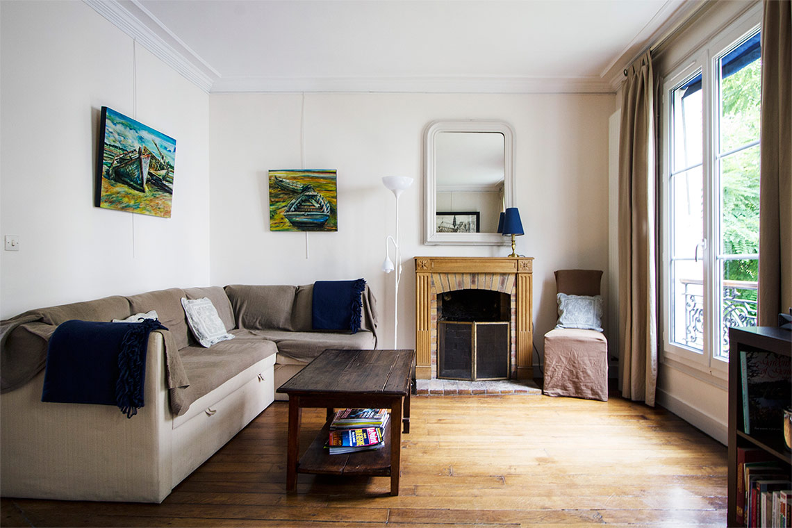 Paris Rue Lemercier Apartment for rent