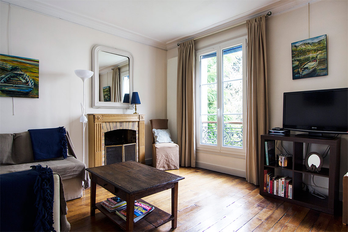 Apartment Paris Rue Lemercier 2