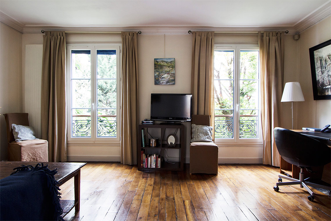 Apartment Paris Rue Lemercier 4