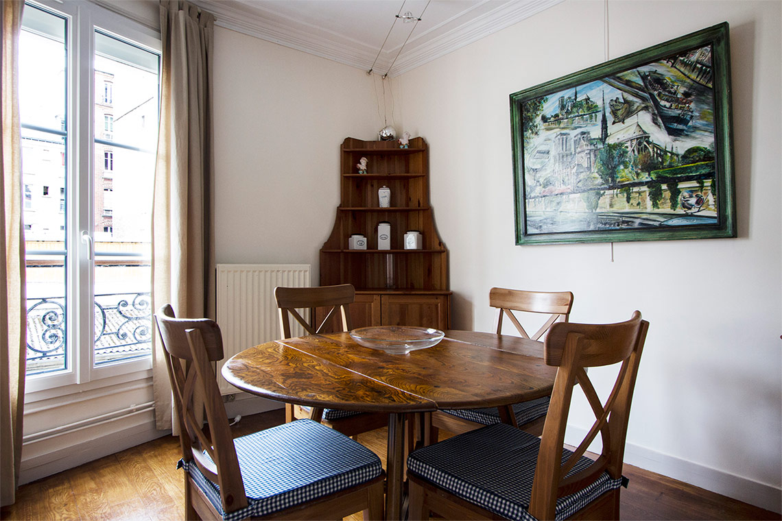 Apartment Paris Rue Lemercier 5