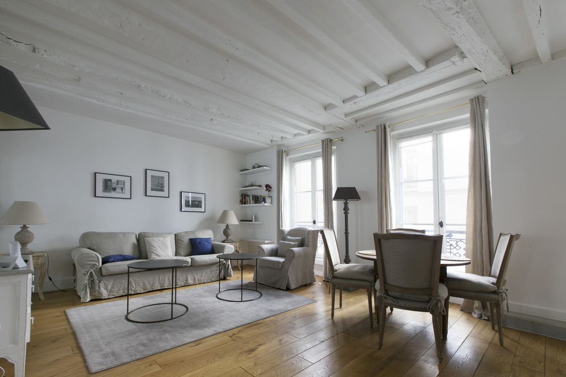 Furnished apartment for rent Paris Rue Guisarde