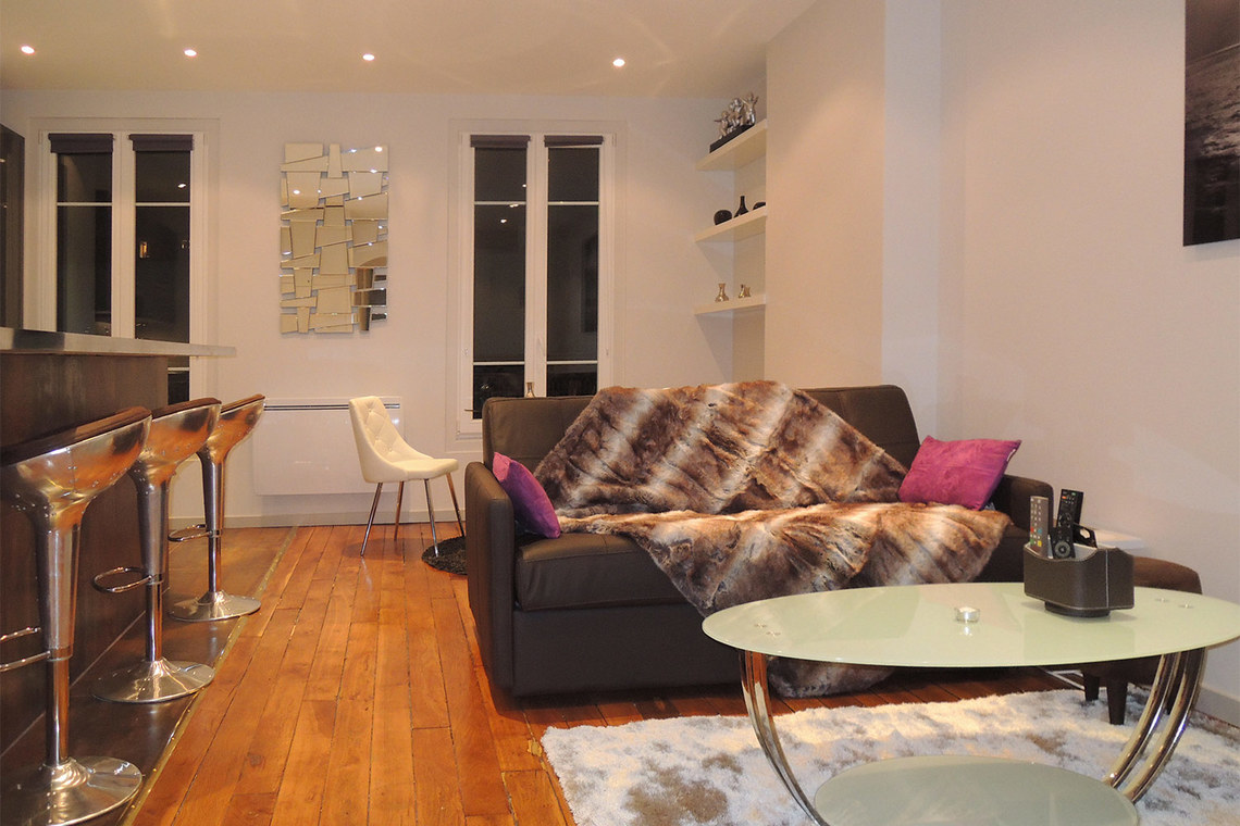 Furnished apartment for rent Paris Rue Malher