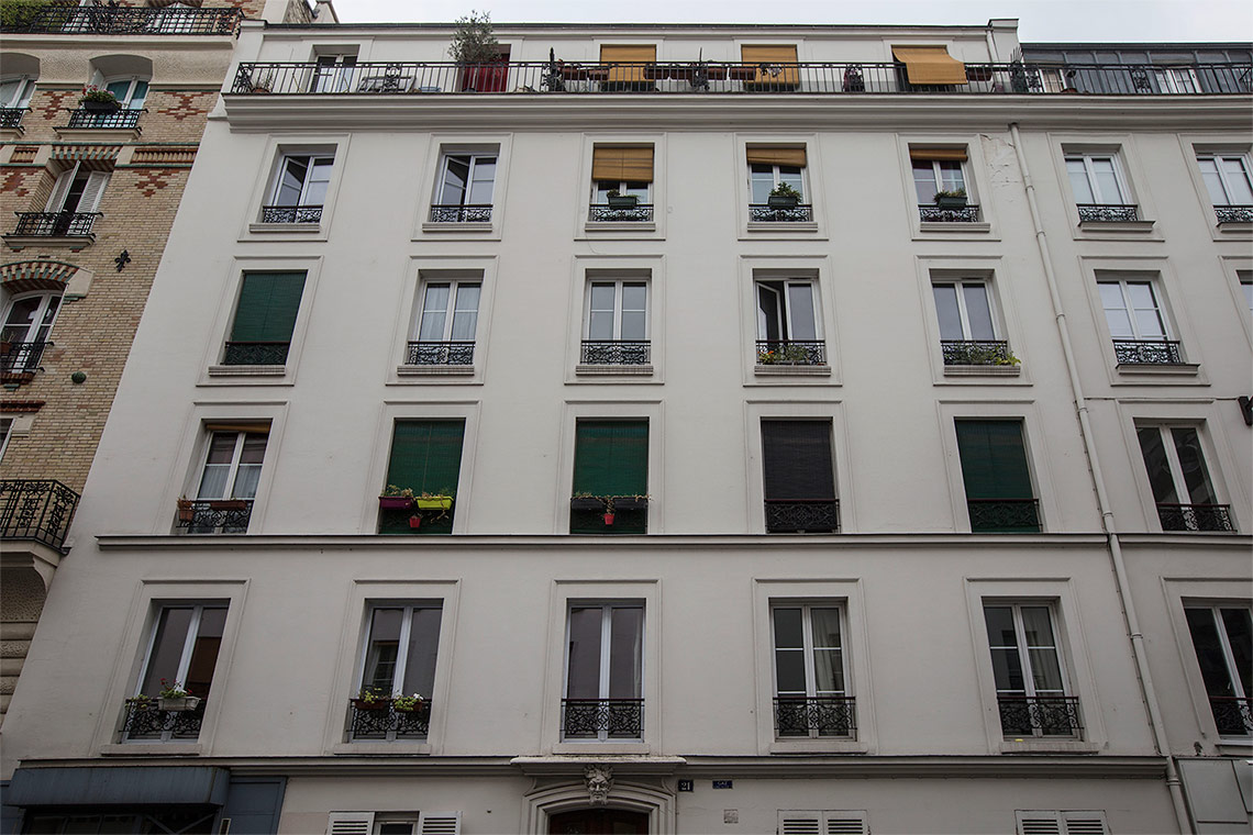 公寓 Paris Rue de Nice 4