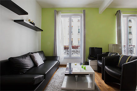Location appartement meubl rue de nice paris ref 9919 for Appartement meuble a nice