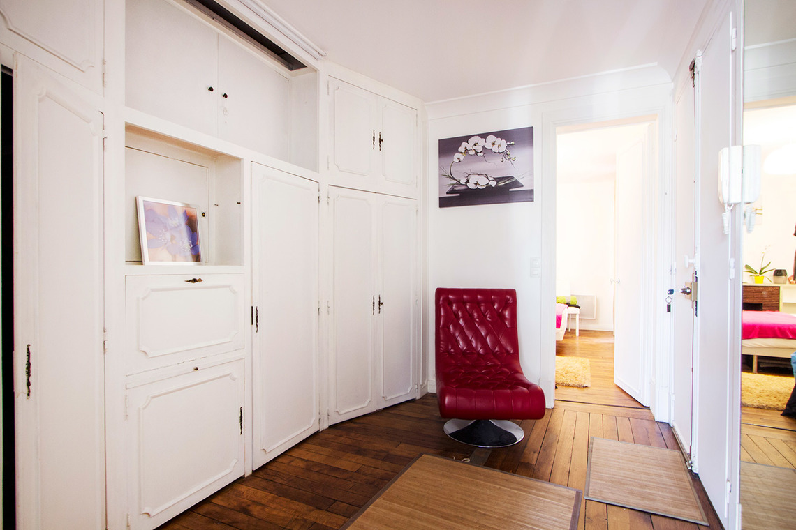 Apartment Paris Rue Truffaut 9