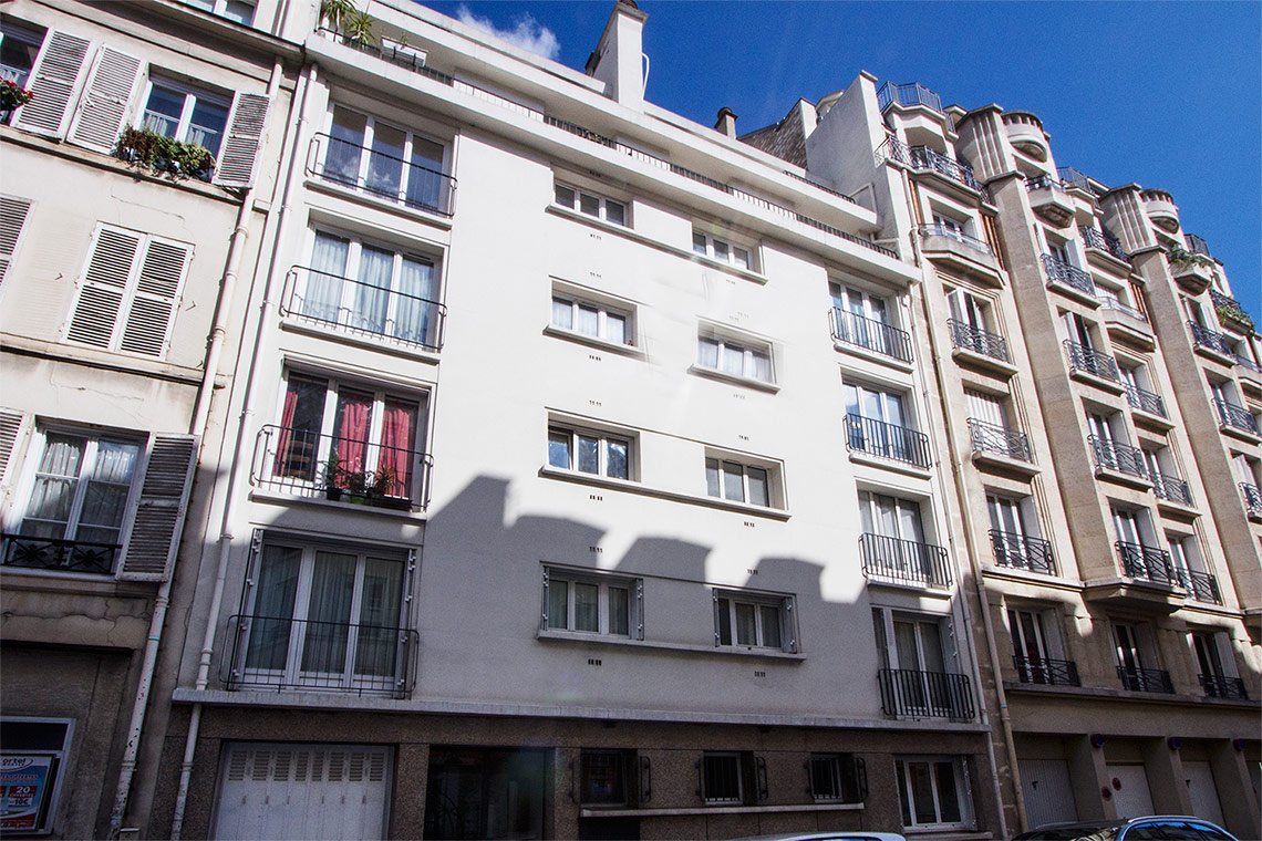 Appartement Paris Rue Jean Bart 12
