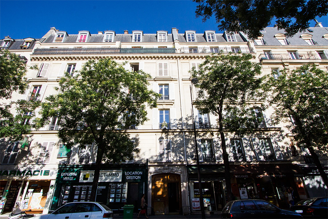 Квартира Paris Rue Brochant 11