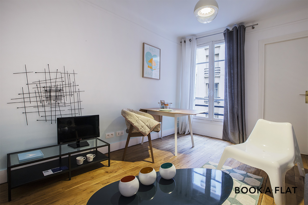 Appartement Paris Rue Mansart 3