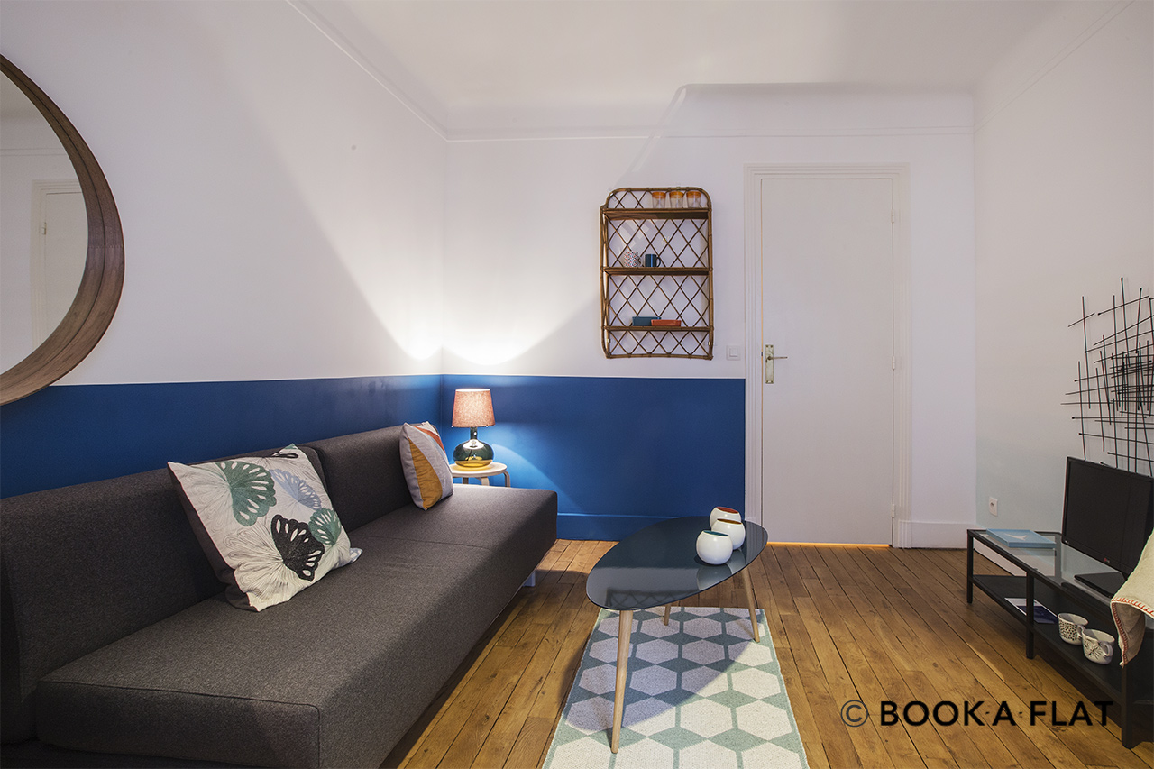 Appartement Paris Rue Mansart 4