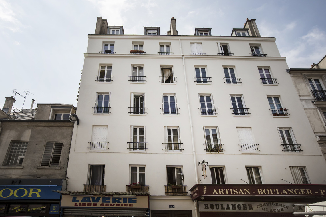 Квартира Paris Rue Saint Maur 7