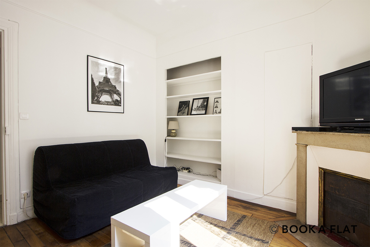 Furnished apartment for rent Paris Rue Saint Charles