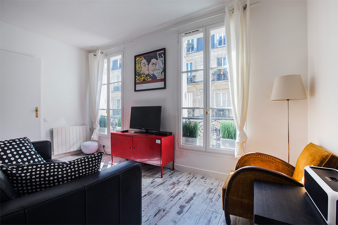Appartement Paris Rue de Lévis 3