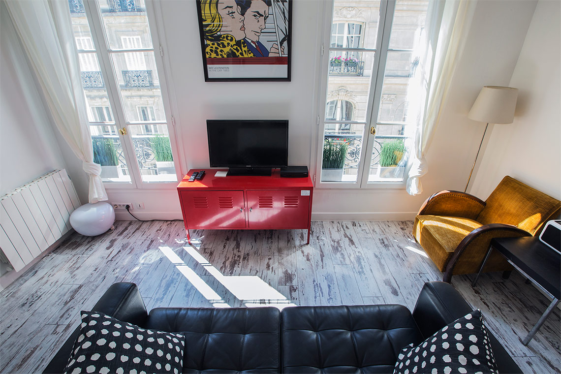 Appartement Paris Rue de Lévis 5