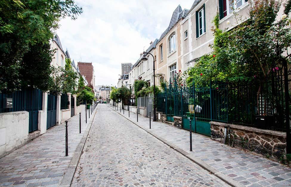 Appartement meubl quartier butte aux cailles paris for Les jardins de la villa porte maillot